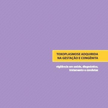 TOXOPLASMOSE ADQUIRIDA NA GESTAÇÃO E CONGÊNITA