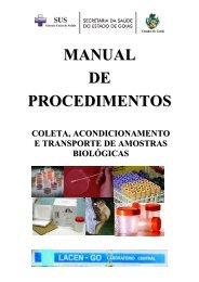 manual de procedimentos - Sistema de Gerenciamento de Conteúdo