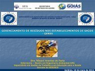 Gerenciamento de Resíduos nos Estabelecimentos de Saúde