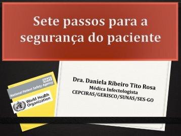 7 passos para segurança do paciente - Sistema de Gerenciamento ...