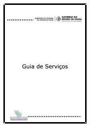 Guia de Serviços - Sistema de Gerenciamento de Conteúdo
