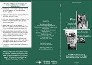 Folder: Plano Nacional de Saúde no Sistema penitenciário