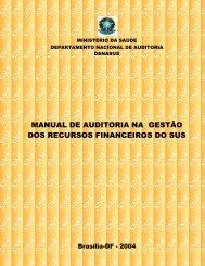 Manual Auditoria na Gestão de Recursos Financeiros - Sistema ...
