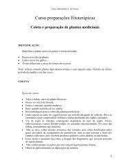Preparações de plantas medicinais - Sistema de Gerenciamento de ...