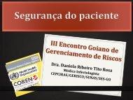Sete passos para a segurança do paciente