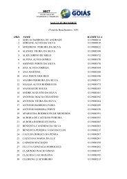 SAO LUIZ DO NORTE (Total de Beneficiários: 169) ORD. NOME ...
