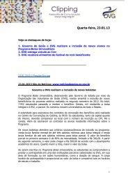Quarta-feira, 01 - Governo de Goiás