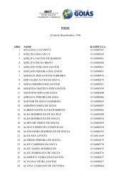 POSSE (Total de Beneficiários: 744) ORD. NOME MATRÍCULA 1 ...
