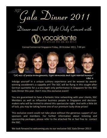 Gala Dinner 2011