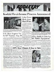 Kodakery; Vol. 7, np. 23; June 9, 1949
