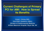 Current Challenges of Primary PCI for AMI: How to Spread Its Benefits
