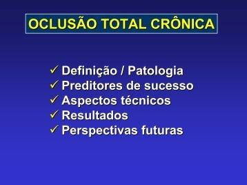 oclusão total crônica