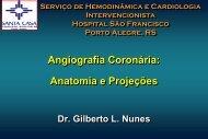 Aula 4 - Angiografia Coronária: Anatomia e Projeções