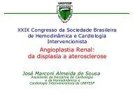 Angioplastia Renal: da displasia a aterosclerose