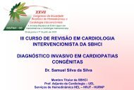 Aula 27 - Diagnóstico Invasivo em Cardiopatias Congênitas
