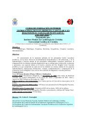 curso de formación superior teórico-pràctico en medicina vascular y ...