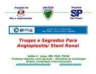 Truqes e Segredos Para Angioplastia/Stent Renal
