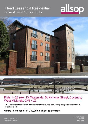Download Waterside, Coventry - Allsop