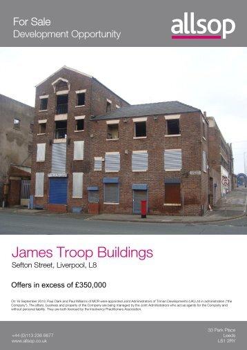 James Troop Buildings - Allsop