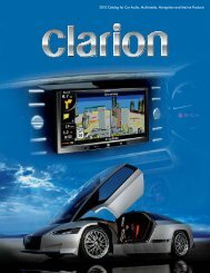 2010 Catalog for Car Audio, Multimedia, Navigation and Marine ...
