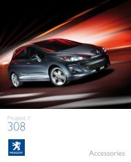 308 Accessories Brochure - The Co-operative Motor Group
