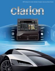 2009 Catalog for Car Audio, Multimedia, Navigation, Security and ...
