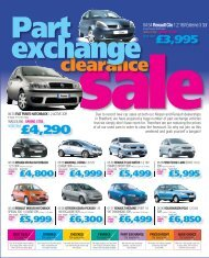 clearance - The Co-operative Motor Group