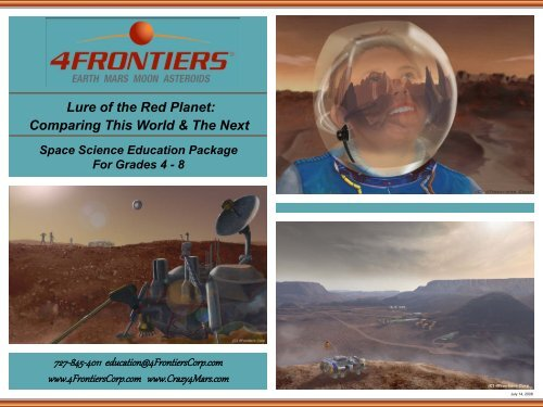 Ed Pack Brochure - 4Frontiers Corporation