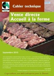 Vente directe Accueil à la ferme - Chambres d'agriculture - Picardie