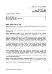 A.Ü. Sosyal Bilimler Enstitüsü Kamu Yönetimi – Yönetim Bilimleri ...