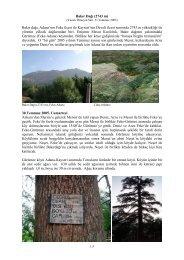 Bakır Dağı (2743 m) Bakır dağı, Adana'nın Feke ilçesi ile Kayseri'nin ...