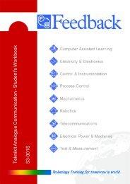 Teknikit Analogue Communications Student's Workbook 53-001S