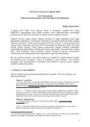 Yerel Yönetimlerde Mali Desantralizasyondan Mali Federalizme ...