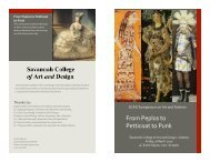 Peplos Petticoat Punk Program - Savannah College of Art and Design