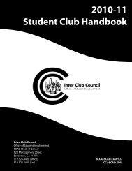 2010-11 Student Club Handbook - SCAD Blogs - Savannah College ...