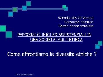 Presentazione di PowerPoint - ULSS 20 Verona