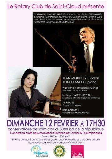 2012_12Fev_ConcertStCloud_programme - Association Hubert Gouin