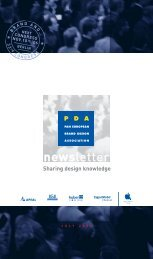 newsletter - european packaging design association