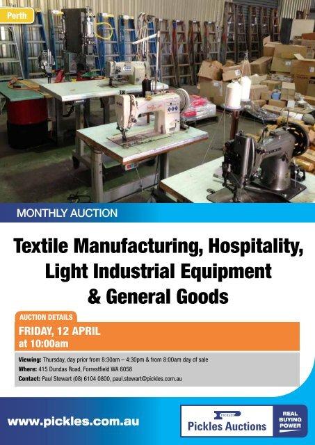 Product industrial general engineering details