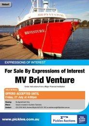 MV Brid Venture