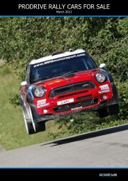 PRODRIVE RALLY CARS FOR SALE