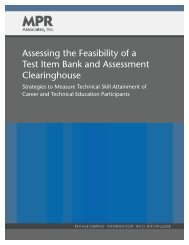 Assessing the Feasibility of a Test Item Bank and Assessment ...