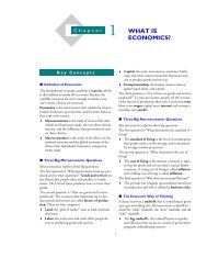 Chapter 1: What is Economics? - Pearson