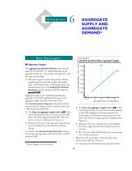 Chapter 21(6): Aggregate Supply and Aggregate Demand - Pearson