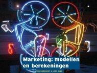 Marketing: modellen en berekeningen Ton Borchert ... - Pearson