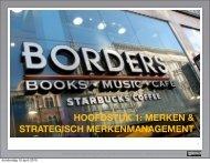 hoofdstuk 1: merken & strategisch merkenmanagement - Pearson