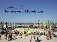 Hoofdstuk 16 Reclame en public relations - Pearson