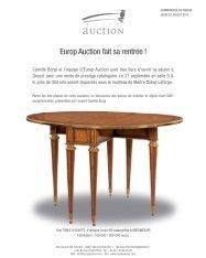 Présentation de la vente du 21 Septembre 2011 - Camille Bürgi