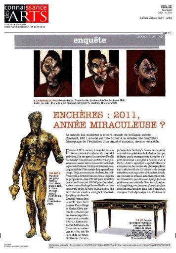 Valérie de Maulmin - Connaissance des Arts n°701 - Février 2012