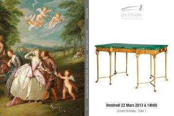 Catalogue de la vente - Camille Bürgi